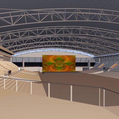 Arena Leipzig.
