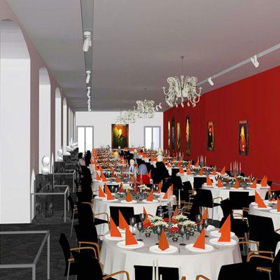 Residenzschloss Dresden- Fürstengalerie. Made for Brähler ICS Konferenztechnik.