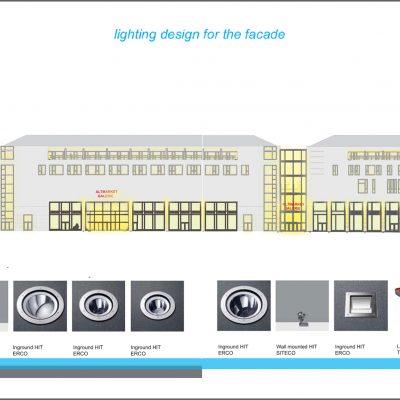 """Outdoor Lighting Concept for """"Altmarkt Galerie"""" in Dresden"""