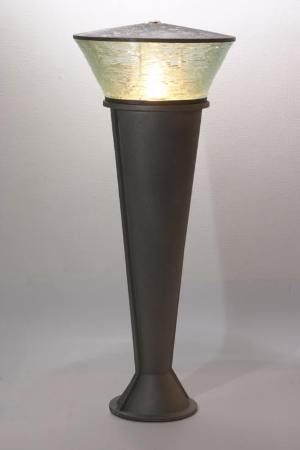 Outdoor Luminares. Cast iron, copper, glass. Master degree project. 2004